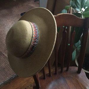 Floppy, braided beach hat
